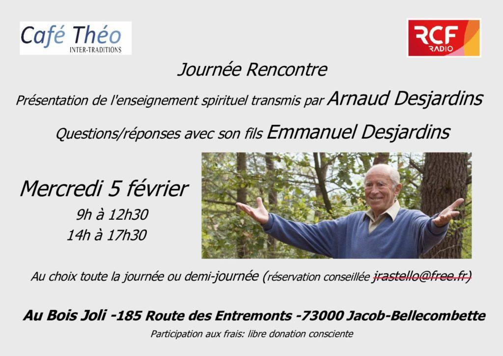 Arnaud Desjardins 5 février 2020